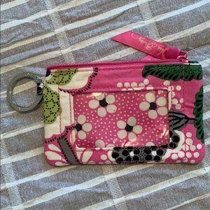 Vera Bradley license coin purse